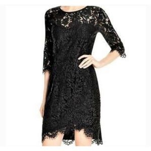 Cupcakes and Cashmere Black Lace Dress
